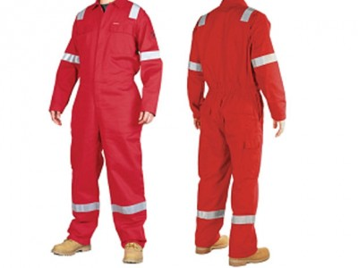 Baju Proyek K3 (Safety Workwear Coverall)