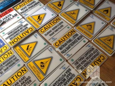 Safety Signboard Acrylic Indoor