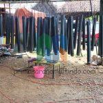 Pembuatan Delineator Besi