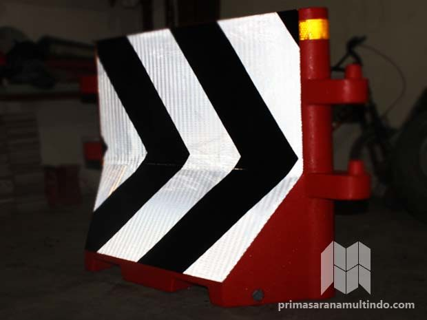 Road Barrier Chevron