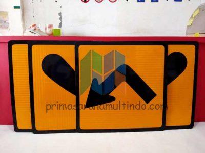 Rambu Perintah Sticker 3M