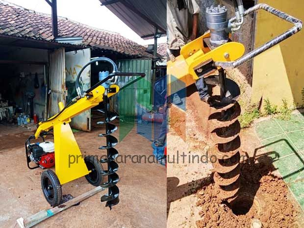Mesin Bor Tanah Spiral (Hole Digger)